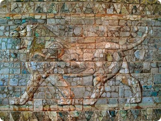 Comment devenir riche ? Le Lion de Damas, exposé au musée du Louvre