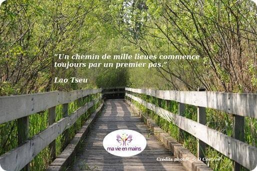 Citation de Lao tseu un chemin de mille lieues commence toujours par un premier pas