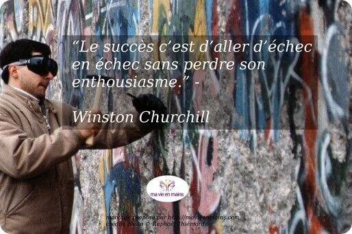 Découvrez le secret du succès selon Winston Churchill
