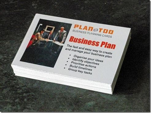 La carte du business plan gagnant