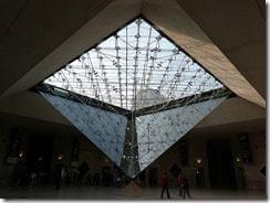 Pyramide inversée, le Louvre, Paris