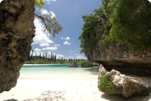Un petit coin de paradis : la baie de Kanumera Comment pensez vous que vous allez vous sentir, là-bas ?