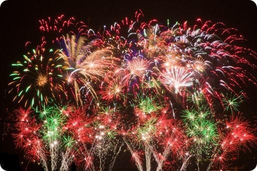 Un feu d'artifice pour fêter votre victoire sur la dette et votre surendettement.