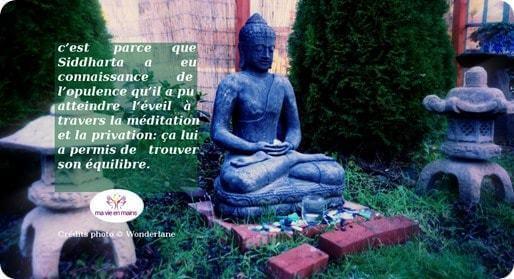 Siddharta Gautama a fait plus que réaliser ses rêves : il a trouvé son équilibre grâce à son chemin de vie et a ainsi obtenu un corps de bouddha
