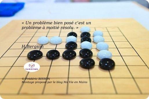 Ralentir pour réussir, citation de Henry Bergson : 'Un problème bien posé, c'est un problème à moitié résolu.'