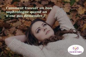 Sophrologie à Paris : mes conseils pour trouver un bon praticien